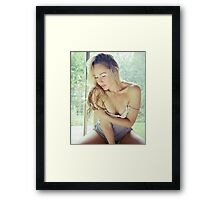 Tina-Grey-6 Framed Print