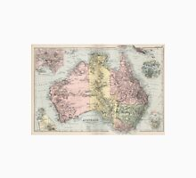 Vintage Map of Australia (1891) Unisex T-Shirt