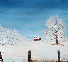 Frosty Morning by Jack G Brauer