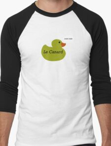 Le Canard Men's Baseball ¾ T-Shirt