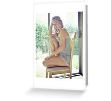 Tina-Grey-3 Greeting Card