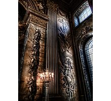 Candelabra in the Painted Hall Photographic Print