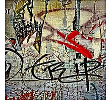 Graffiti #97 Photographic Print