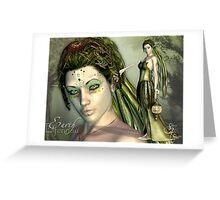 Elfennau of the Earth Greeting Card