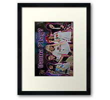 "JCVG 2011 ""Girls Wanna Play"" Poster Framed Print"