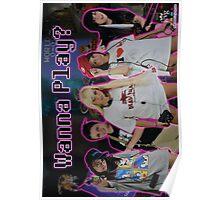 """JCVG 2011 """"Girls Wanna Play"""" Poster Poster"""