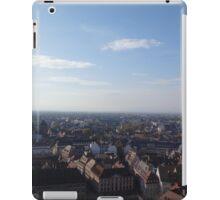 Bird's Eye View of Strasbourg, France iPad Case/Skin