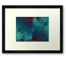 Blooming Mandel Framed Print