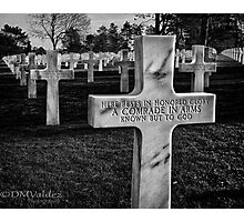 Honored Glory Photographic Print