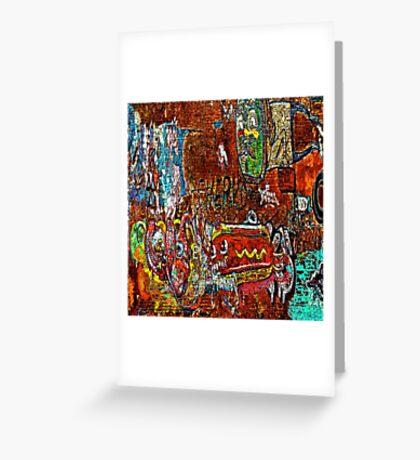 Graffiti #98 Greeting Card