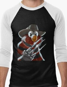Nightmare on Sesame Street Men's Baseball ¾ T-Shirt
