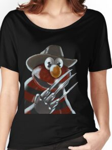 Nightmare on Sesame Street Women's Relaxed Fit T-Shirt