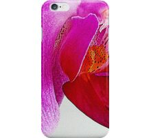 Heart of the Orchid flower iPhone Case/Skin