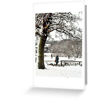 Coronation Park Ormskirk Greeting Card