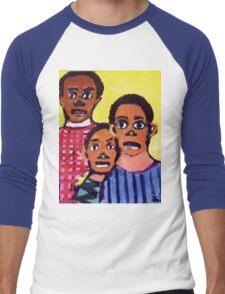 Different Drums  T-Shirt & Sticker by Joshua D. W. Broomfield Men's Baseball ¾ T-Shirt