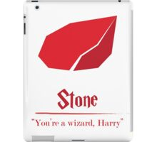 Harry Potter and the Sorcerer's Stone Print iPad Case/Skin