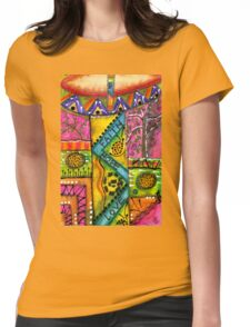 Drumland T-Shirt Womens Fitted T-Shirt