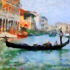 Venice Gondola by yumas