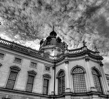 Charlottenburg palace Berlin Germany by pdsfotoart