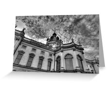 Charlottenburg palace Berlin Germany Greeting Card