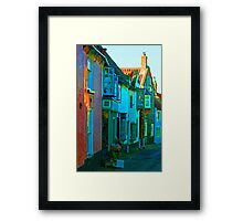Blakeney On Canvas Framed Print