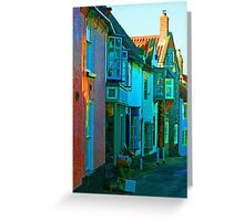 Blakeney On Canvas Greeting Card