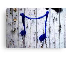 Montreal - Blue song. Canvas Print