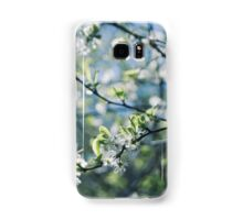Pretty White Flowers Samsung Galaxy Case/Skin