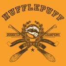 Hufflepuff - Quidditch Champions Tee by Mouan