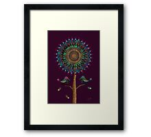 The Mandala Tree Framed Print