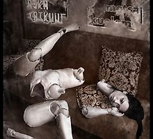 Gothic Photography Series 224 by Ian Sokoliwski
