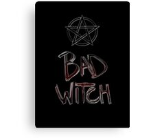 Bad Witch Canvas Print