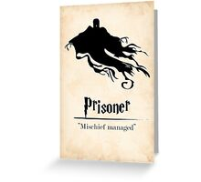 Harry Potter and the Prisoner of Azkaban Print Greeting Card