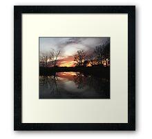 Natures Vignette Framed Print