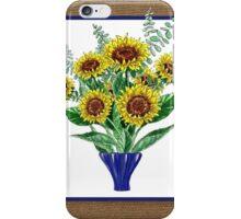 Sunflowers Bouquet iPhone Case/Skin