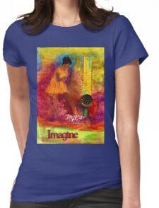 Imagine Winning T-Shirt Womens Fitted T-Shirt