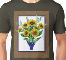 Sunflowers Bouquet Unisex T-Shirt