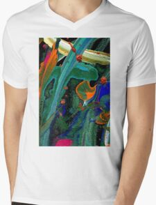 Life Under the Sea T-Shirt Mens V-Neck T-Shirt