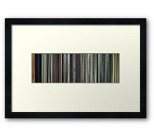Moviebarcode: The Complete Animatrix (2003) Framed Print