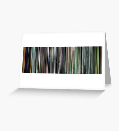 Moviebarcode: The Complete Animatrix (2003) Greeting Card