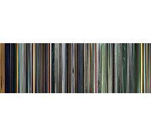 Moviebarcode: The Complete Animatrix (2003) Photographic Print