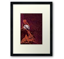 Techno Flamenco - Ambient house Framed Print