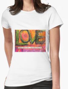Love in All Its Dimensions T-Shirt Womens Fitted T-Shirt