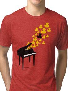 Duck Music Tri-blend T-Shirt