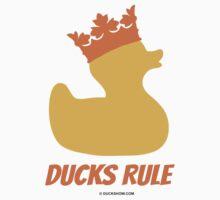 Ducks Rule Kids Tee