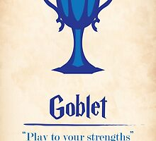 Harry Potter and the Goblet of Fire Print by PagingVeronica