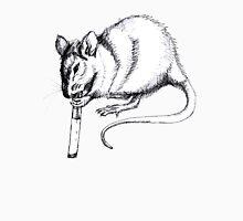 smoking rat Unisex T-Shirt