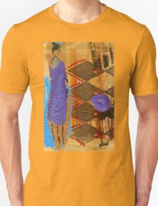 Purple Dress T-Shirt T-Shirt