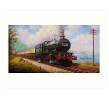 The Torbay Express Art Print