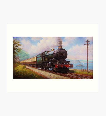 The Torbay Express Art Print